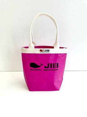 【JIB】BKS28 バケツトートSS / ピンク x アイボリー