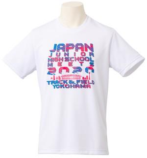 Tシャツ(全国中学生陸上競技大会2020 記念)ホワイト ※JAAF限定カラー