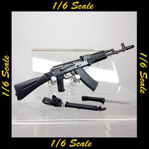 【01283】 1/6 DAMToys ロシア 空挺 AK-74M 銃剣付き