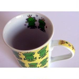 カエルマグカップ フロッグスイエロ cm-fy1302