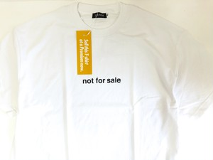 """【LIXTICK】""""NOT FOR SALE"""" T-shirts"""