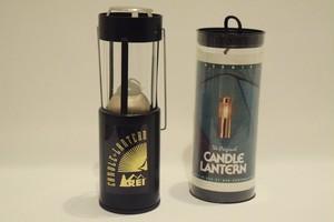 USED 80s REI×UCO Candle Lantern -Black 01067