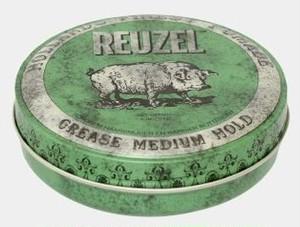 【店頭販売のみ】Reuzel Pomade -GREEN-(ルーゾーポマード グリーン) 【油性: ナチュラルホールド】