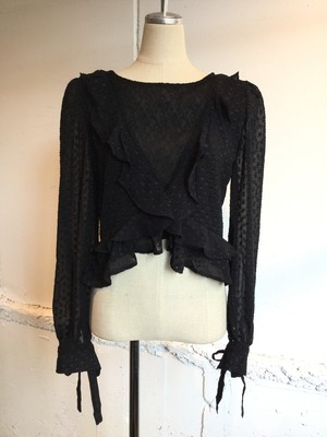 GHOSPELL   Dark Hours Lace Top