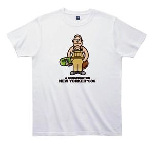 《山本周司Tシャツ》TY036/ A CONSTRUCTOR