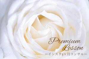 オンライン|大人女子専用プレミアムコンサル♡インスタ3ヶ月コース