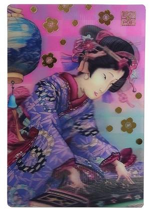 浮世絵ポストカード 見立昼夜廿四時之内 午前十一時