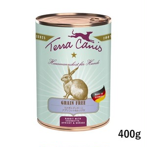 テラカニス【グレインフリー総合栄養食】ウサギ肉400g