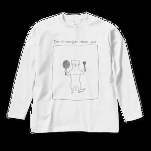 つよい長袖Tシャツ 白