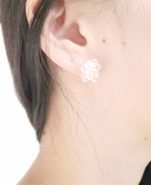 呼吸 pierce / earring【透明】