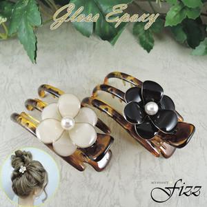 【アセチ素材】アセチ&パールのポニー ブラック