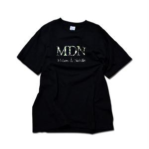 【メール便送料無料】MDN Logo Tee Black【品番 18A3004】