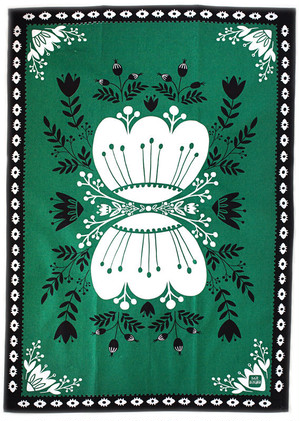 Green Kitchen Towel 100% cotton