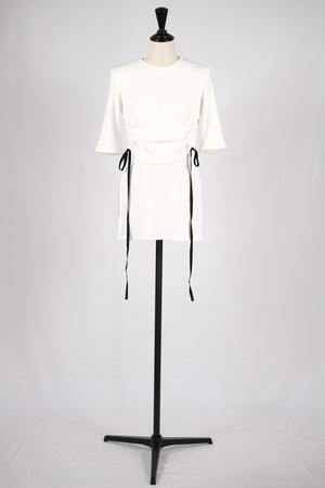 【AKIKOAOKI】Nike top - white