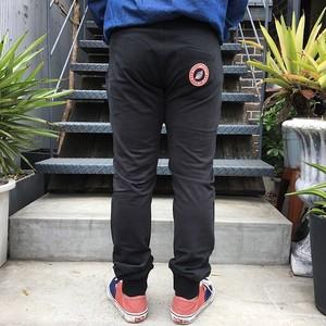 SWEET PANTS TERRY SLIM PANTS BLACK