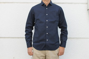 30%OFF WORKERS / Wide Spread Shirts Brushed Twill