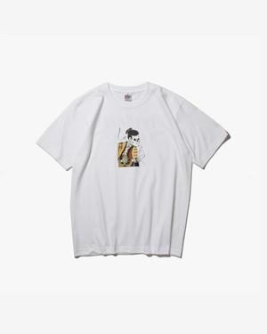 HASKEY SHARAKU  T-SHIRT / WHITE