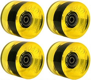 SANTA CRUZ ROAD RIDER ウィール 68mm 78a Yellow W/BEARINGS PREMIUM USA GRIP FORMULA