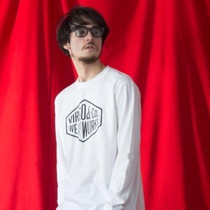 VIRGO / Diamond logo L/S  / WHITE