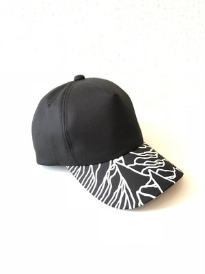 【18035】CP1919 5PANEL CAP (BLACK)