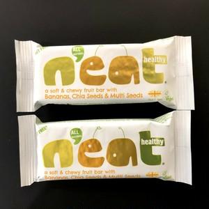 n'eat フルーツバー バナナ, チアシード&マルチシード(2個)