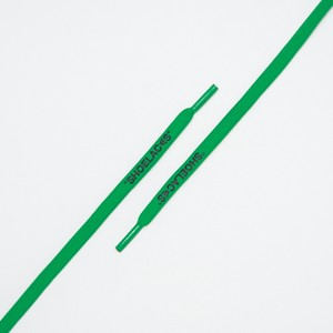 """OVAL LACES SOLID """"SHOELACES/GREEN"""""""