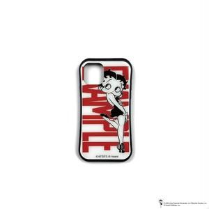 EXAMPLE x BETTY BOOP BLACK DRESS iPhone CASE / WHITE