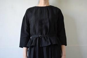 belted blouse / miho umezawa
