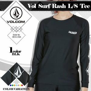 O03119JA ボルコム ラッシュガード Vol Surf Rash L/S Tee レディース ヨガウエア UPF50+ 紫外線カット マリンスポーツ プール 海 夏 レジャー 水着 VOLCOM