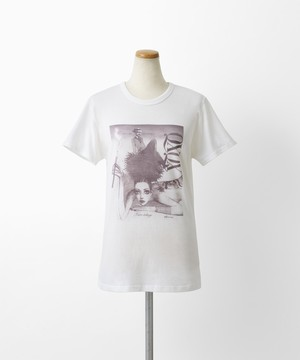 QXQX Tシャツ(巾着ケース付)黒蜥蜴 タトゥー