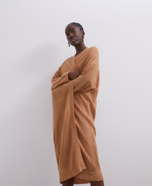 MERINO AND ALPACA LONG CARDIGAN [252061993102]