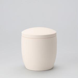 九谷焼 キャンバス骨壷 5寸 素焼き