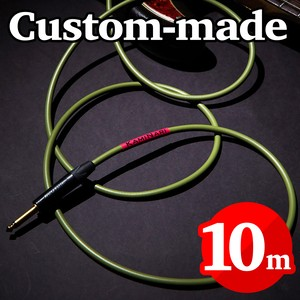 Electric Bass Cable 10m【カスタムメイド】