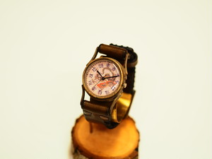 【限定】龍の文字盤腕時計