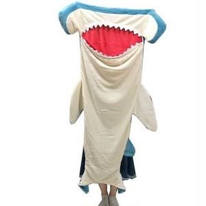ハンマーヘッドシャーク(シュモクザメ)ブランケット・ひざ掛け・腰巻毛布