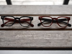 HYKE / BRAYAN / OPTICAL-GLASSES (BK×AMB / AMB×BK)