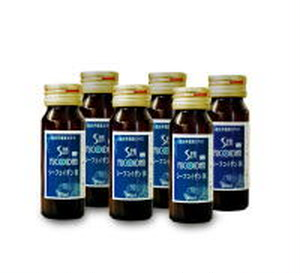 加糖 シーフコイダンDX 30ml x 10本入り 1箱 With Honey Seafucoidandx 30ml x 10bottles