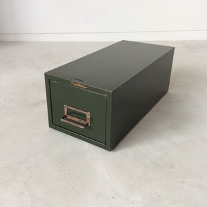 Metal Card Cabinet 【Asco Steelmaster】