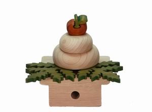 木製の鏡餅