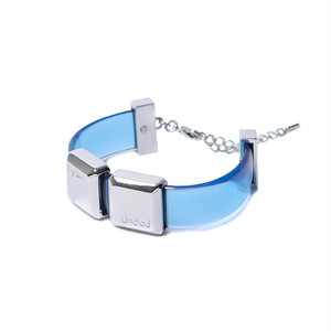 C+U KEY BRACELET [ LIGHT BLUE ]