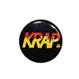 KRAP 缶バッチ - LOGO