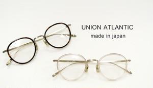 ユニオンアトランティック 国産 日本製 眼鏡 鯖江のめがね オーバル UNION ATLANTIC UA-3615 正規品
