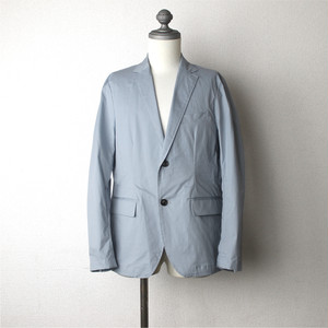 Stretch Tailored Jacket Blue