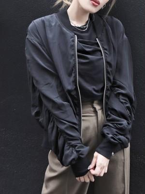 【EMODA】ダブルギャザーブルゾン