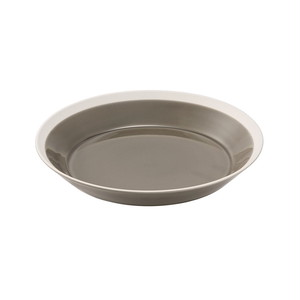 yumiko iihoshi porcelain(ユミコイイホシポーセリン)×木村硝子店 dishes 200 plate (fawn brown) プレート 皿 20cm 日本製 255565