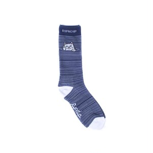 RIPNDIP - Peek A Nermal Socks (Navy)
