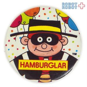 マクドナルド 缶バッジ ハンバーグラーと風船