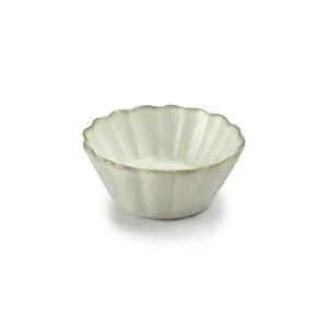 「翠 Sui」しょうゆ皿 花豆鉢 直径6cm 月白 美濃焼 288220