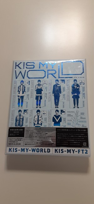 Kis-My-Ft2 Kis-My-WORLD  初回限定盤B 【CD】