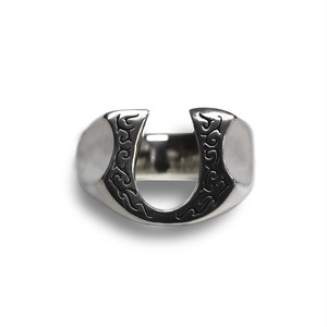 【雑誌掲載】【送料無料】Horse shoe Ring Producted by NOBILIS【品番 15S2011】